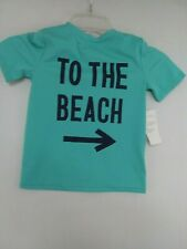 TO THE BEACH Old Navy Toddlers 5T Unisex Swim T-Shirt NWT UPF 50