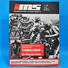 DDR Illustrierter Motorsport IMS 6/1989 Bergring Teterow Melkus-Rennwagen L