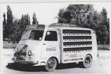carte postale - truck - camion - fourgon livraison 1950 6 COCA COLA