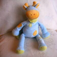 Doudou Girafe Tex - Bleu Vert