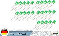 25 Stück LED 2X5X7mm eckig grün diffus 20mA für Arduino Raspberry Pi basteln