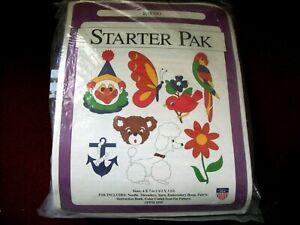 VINTAGE Pretty Punch Starter Pak K9090 Embroidery Kit
