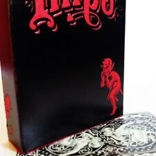 BLACK EDITION WHISPERING IMPS PLAYING CARDS DECK NEW
