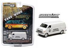 2014 GreenLight 1:64 *ANIMAL CONTROL* 1976 Dodge B100 VAN *NIP!*