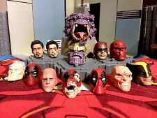 Marvel Legends / Select head painting and fitting service's (per 1 head) casts