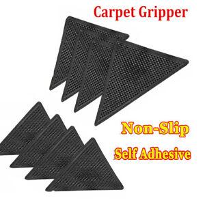 RUG CARPET MAT GRIPPERS RUGGIES NON SLIP SKID REUSABLE WASHABLE GRIPS UK