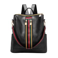 Women Girls Ladies Backpack Travel Shoulder Bag PU Leather Rucksack Laptop Bag