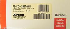 XIRCOM PS CEM 28BT Credit Card Ethernet Modem 28.8