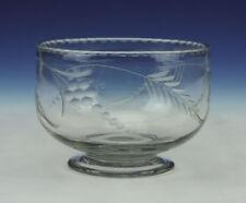 Victorian (1840-1900) Glassware Era Glass Bowl