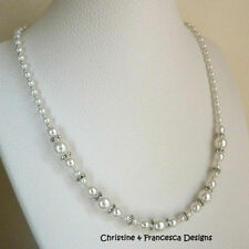 Special Occasion Pearl Handmade Costume Necklaces & Pendants