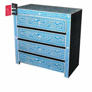 Pandora Hand Painted Chest of Drawers (MADE TO ORDER)