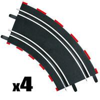 Carrera GO!!! Curve 2/45° (4) Track 1/43 Slot Car