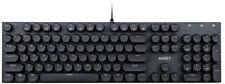 Aukey KM-G10 104-Key Mechanical Keyboard with Typewriter Retro Style