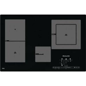 KitchenAid KHIP4 77511 4-Zonen Placa de Inducción Función Grill Autark 77cm 8kW
