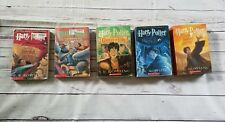 Harry Potters Books 2,3,4,5, 7. Paperback, GUC