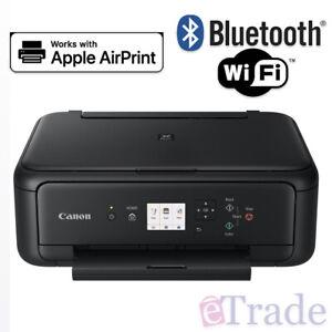Canon TS5160 PIXMA Colour WiFi + Bluetooth Printer | Scanner | Copy | AirPrint