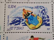 FRANCE 2004, timbre 3698, SPORTS de GLISSE, JET-SKI, neuf**, MNH STAMP