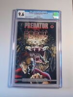 Predator vs Magnus Robot Fighter #1 Plantinum Ed. CGC 9.6 White Pages (New Case)