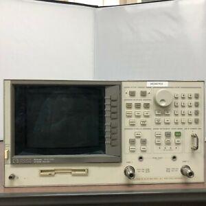 HP 8753D Network Analyzer, 30 kHz to 3 GHz