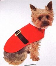 Festive Cute Dog Santa outfit. Just for Fun on Christmas day!  Small