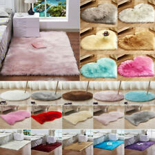 Fluffy Rugs Anti-Skid Soft Area Rug Bedroom Living-Room Home Floor Shaggy Carpet