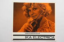 originale Werbung Gebrauchsanleitung DDR IKA Eectrica Ondulierstab OS 69 (88)