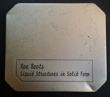 RARE 2002 Ron Boots Liquid Structures  CD VHTF! Signed Netherlands Groove Unlimi