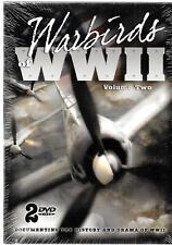 WARBIRDS OF WWII, VOLUME TWO, AIRCRAFT DOCUMENTARY,  2006, NEW DVD