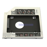 2nd HDD Hard Drive Bay Caddy 9.5mm SATA to SATA for Laptops Universal CD/DVD-ROM