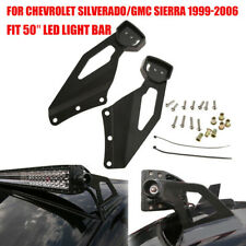 """1Pair Mounting Bracket for Chevy 50"""" Straight LED Bar Upper Windshield/GMC 99-06"""