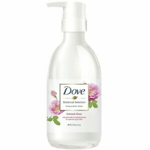 Dove Body Wash Botanical Selection Damask rose Pump 500 g 4902111749501