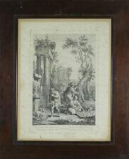 J3-034. INDUSTRIE. ENREGISTRÉES SUR PAPIER. GIUSEPPE ZOCCHI. XVIII SIÈCLE.
