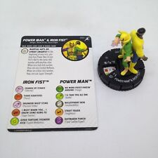 Heroclix Superior Foes of Spider-Man set Power Man & Iron Fist #050 Super Rare!