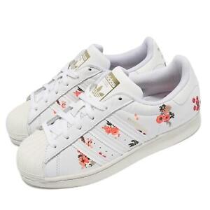 adidas Originals Superstar W White Flower Women Casual Lifestyle Shoes FY8768