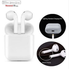 i9S Wireless Bluetooth Earpods Headphones for iPhone IOS & Samsung Android Phone