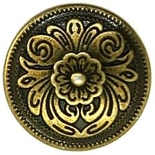 32mm Concho Feder Kreis mit Türkis Tandy Leather 7504-02