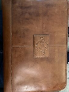Rawlings Genuine Brown Portfolio. Used