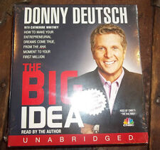 Donny Deutsch The Big Idea AUDIOBOOK CD Compact Disc, NEW, Unabridged COMPLETE!