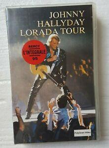 "JOHNNY HALLYDAY ( VHS NEUVE ) ♦ ""LORADA TOUR"" - L'INTEGRALE BERCY 1995  ♦"