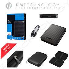 "HARD DISK ESTERNO 2,5"" 500GB-1TB-2TB-4TB MAXTOR/SAMSUNG 3.0 SLIM NERO + CUSTODIA"