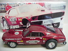 Mr Gasket Twin Turbo Mustang Gasser Ohio George Montgomery 1/18 Gmp NHRA NICE