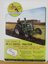 Field Marshall 1950 Tractor  Metal Reproduction Sign WAR264