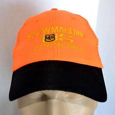 Snowmachine S National Forests Service Hat Orange Trucker Baseball Ball Cap Lid
