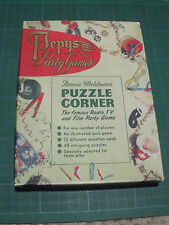 VINTAGE 1950s PEPYS PARTY GAME - RONNIE WALDMAN'S PUZZLE CORNER - RADIO TV FILM