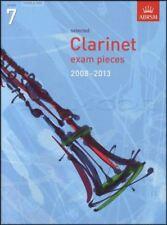 Clarinet Exam Pieces 2008-2013 Grade 7 Score & Part ABRSM Sheet Music Book