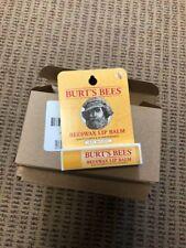 NEW Lot of 12 Burt's Bees Beeswax Vitamin E & Peppermint Lip Balm .15oz