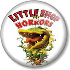 Little Shop of Horrors 25mm Pin Button Badge Retro Movie Logo Film Comedy 1980s