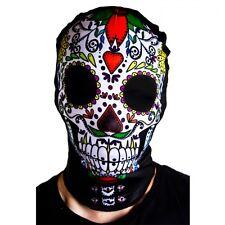 Day of the Dead Fancy Dress Accessory Sugar Skull Hat Cape Halloween Skeleton
