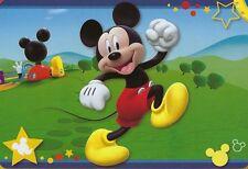 "Large Disney Mickey Mouse Playhouse 54""x80"" Non Slip Area Rug Carpet Play Mat"