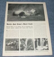 1962 Sterling Moss' Goodwood F-1 Race Crash Highlights Vintage Article